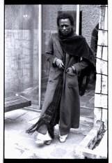 Miles Davis in LA, Jan 1971 photo by Anthony Barboza, Blink article