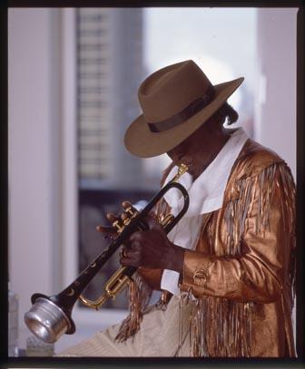 Miles Davis, photo by Anthony Barboza, Japan Van Liquor#3